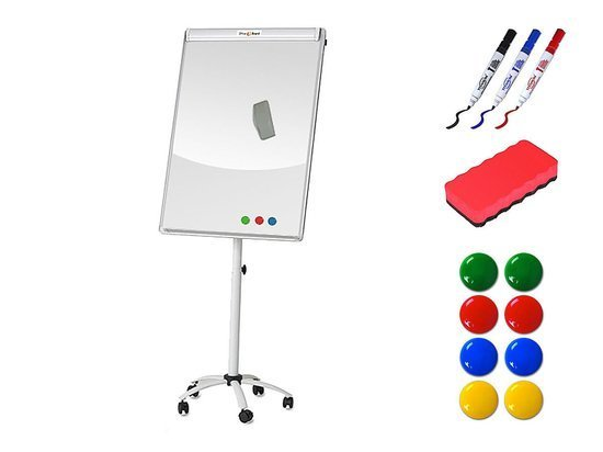 Tablica flipchart 5 OfficeBoard (70x100) + MARKERY