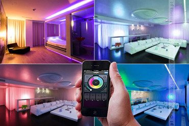 Kontroler WiFi do żarówek LED RGBW (WiFi) LIVING COLOR LUXEN LX2030W