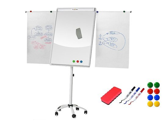Tablica OfficeBoard FLIPCHART 5B 70x100 + MARKERY